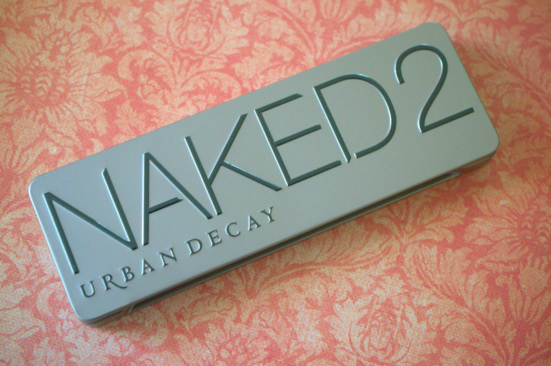 Gettin' down with Urban Decay's Naked 2 palette.