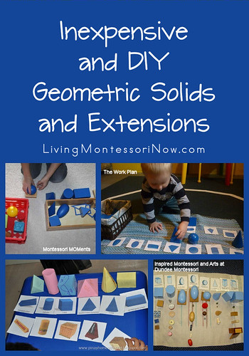 Inexpensive and DIY Geometric Solids and Extensions