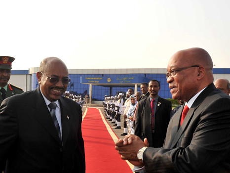 President Jacob Zuma attends inauguration of new state of South Sudan, 9 Jul 2011