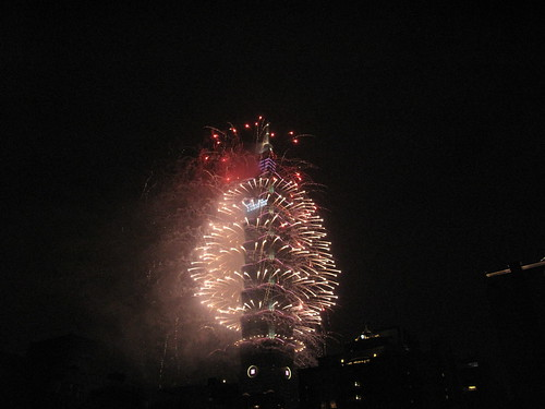 12.2013台北101新年煙火