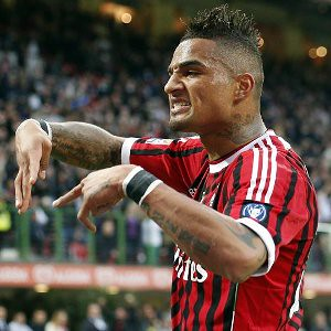 Kevin Prince Boateng of AC Milan walked off the soccer field after racist taunts from the crowd. The star player won praise for his stand in opposition to racist holliganism. by Pan-African News Wire File Photos