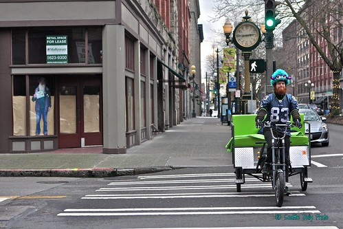 Happy Pedaler by Seattle Daily Photo
