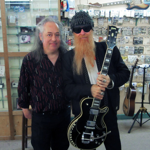 Dan Wollock, First Flight Music, with Billy Gibbons, ZZ Top