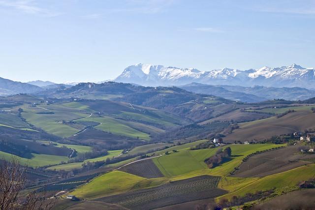 Il Monte Vettore e la Valle del Menocchia