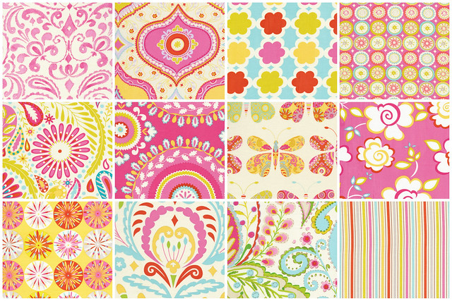 Kumari Garden for Friday's Fabric  Giveaway!!