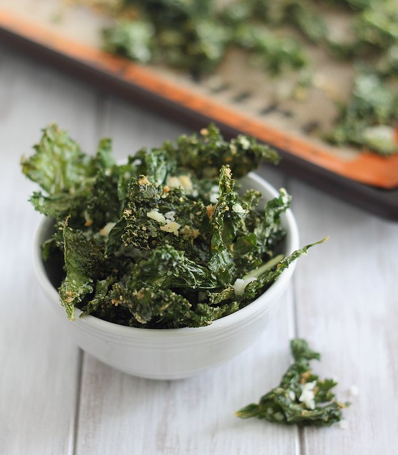 coconut kale chips