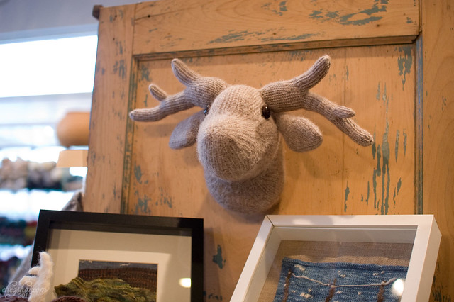 Purl the Knitted Moose