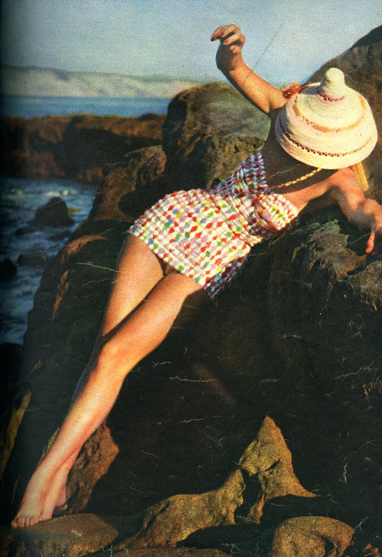 Swimsuit Look Magazine May 1955