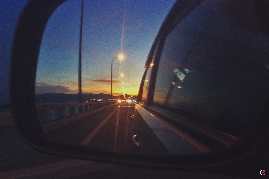 Sunset on Penang Bridge