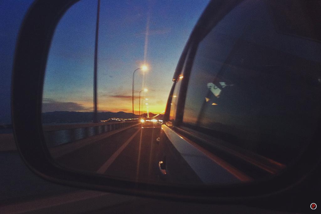 Sunset on Penang Bridge