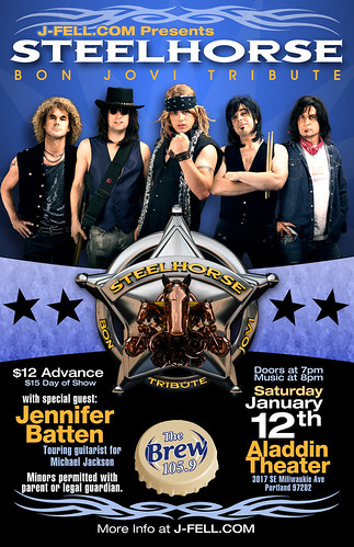 Steelhorse Bon Jovi Tribute @ Aladdin Theater