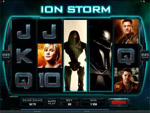 Battlestar Galactica Ion Storm