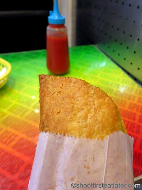 De Original Jamaican Pattie Shop- beef pinatubo P45