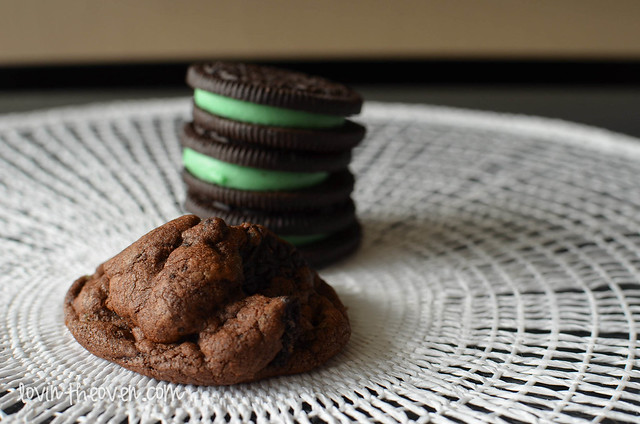 Chocolate Mint Oreo Cookies - Lovin' From The Oven