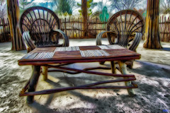 Chairs Bio Park 2….HDR