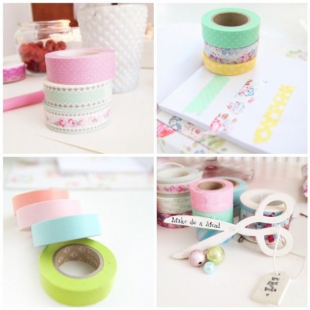 Heart Handmade UK's Washi Tape