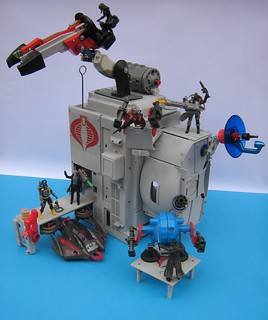 COBRA Naval Base Playset