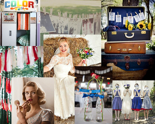 RetroWeddingCollage