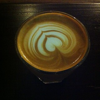 My RM10 latte @ Artisan Roast. I can safely say that it's great coffee. Place a little too hip for me