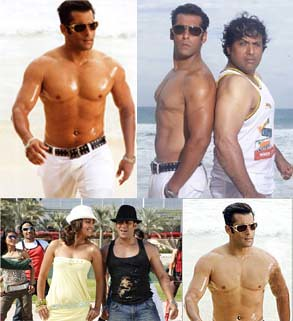 Salman Khan of 2007, in the movie Partner
