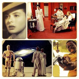 Cidade de Deus, Casablanca, O Império Contra-Ataca, Gritos e Sussurros