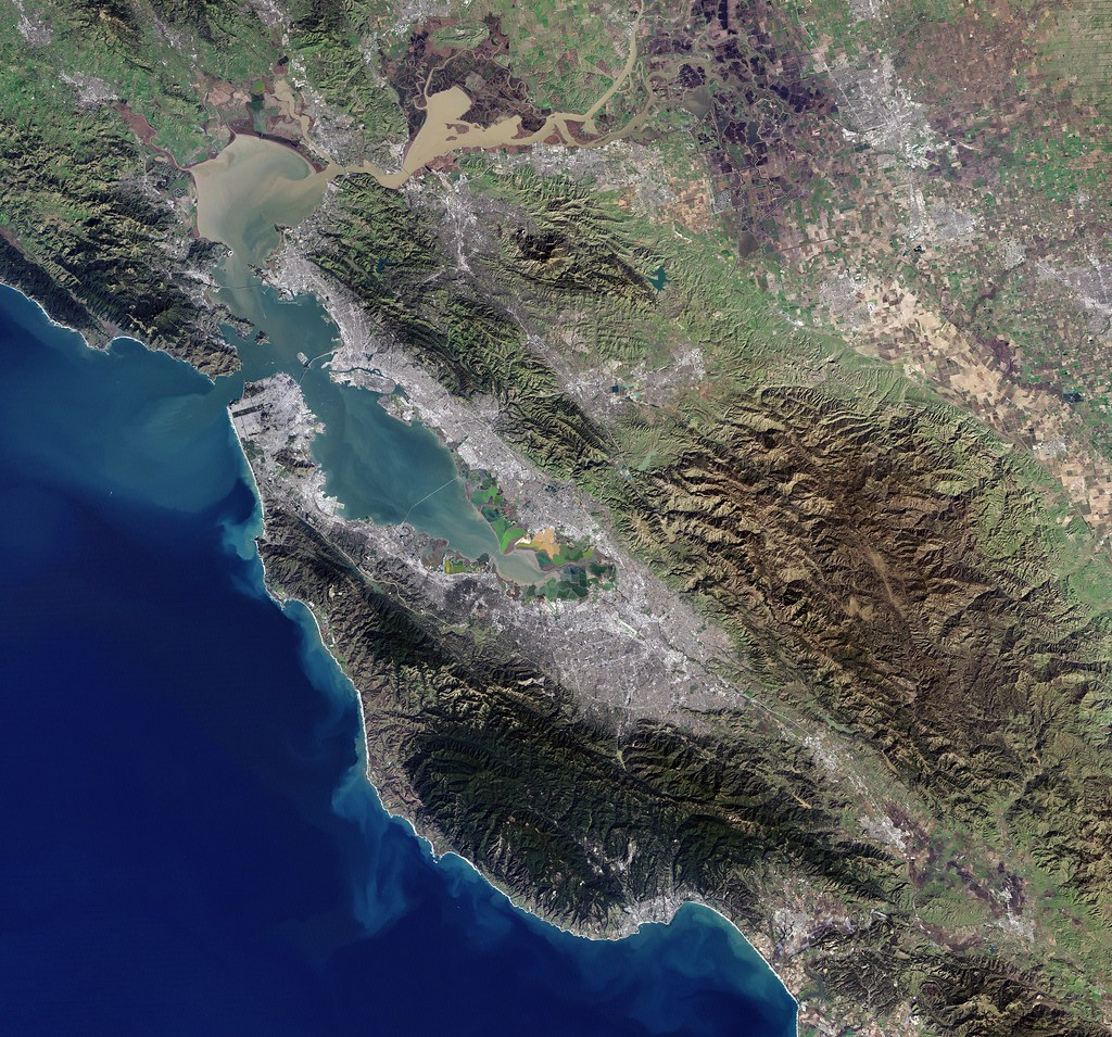 Earth from Space: San Francisco Bay Area as Seen from Landsat-7