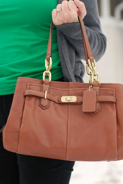 01162013 Coach Outlet Cognac Purse