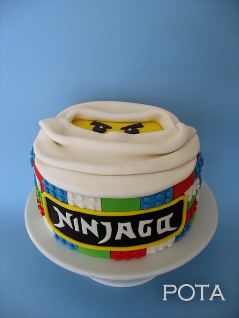 Gâteau Ninjago