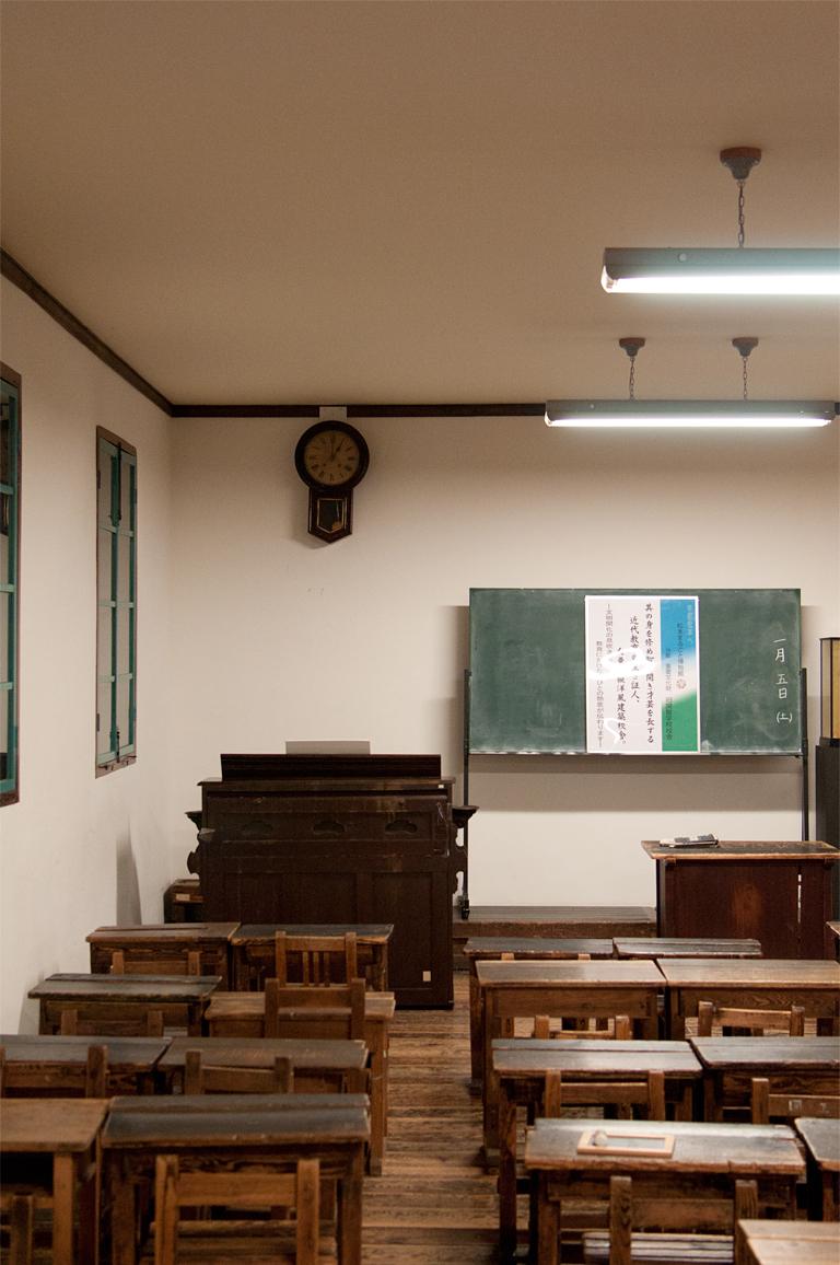 旧開智学校(教室)|長野県松本市