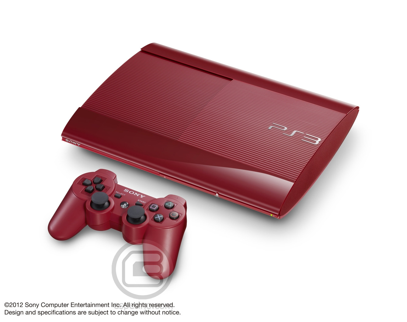 PS3 Super Slim Red 2