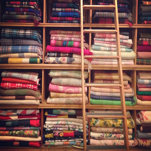 Lots of Blankets. Brimfield.