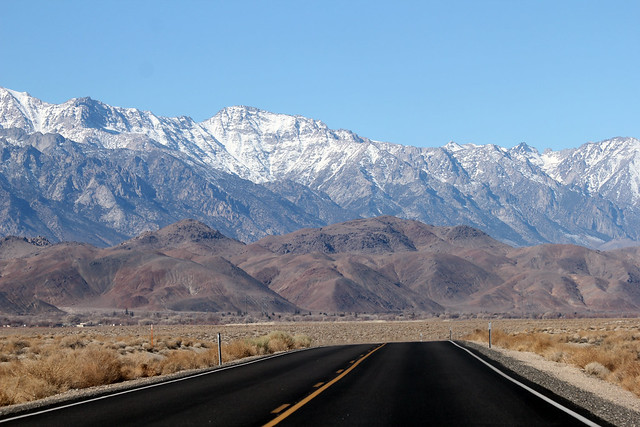 Returning from Death Valley National Park