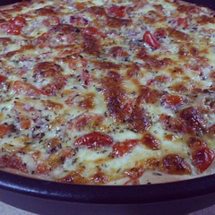 Pan Pizza...yummy!