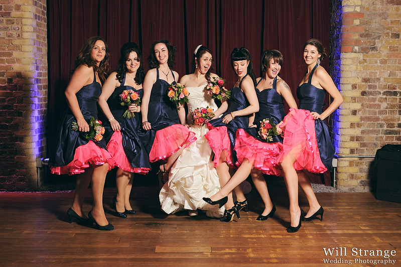 Jemma with her bridesmaids