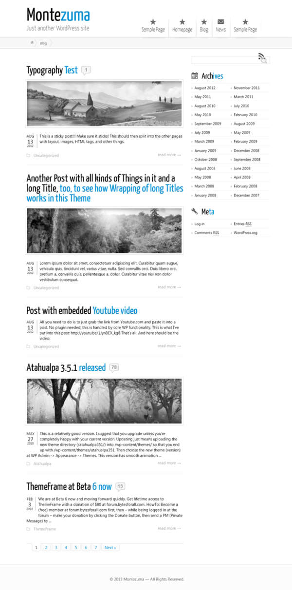 plantilla wordpress