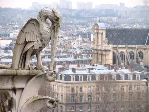 Gárgolas de Notre-Dame