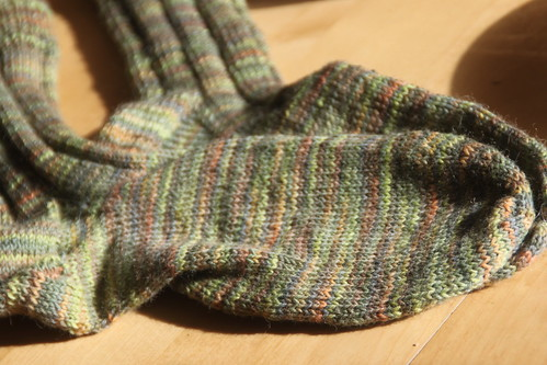 green vanillah socks.