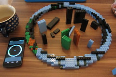 dirks LEGO globe - building up 08