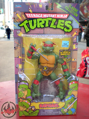 TEENAGE MUTANT NINJA TURTLES - CLASSIC COLLECTION :: RAPHAEL ii (( 2012 ))