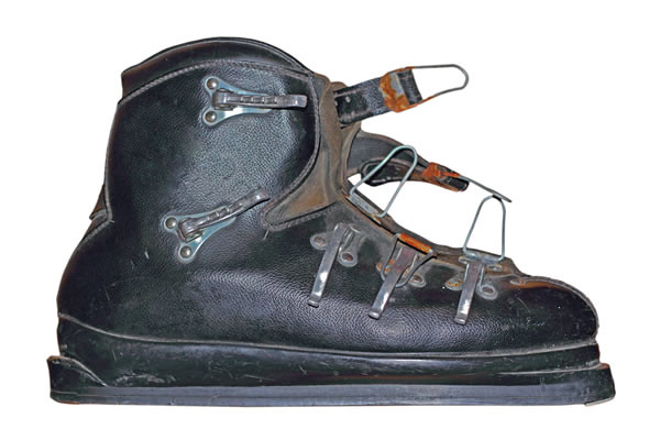 Ski boot evolution