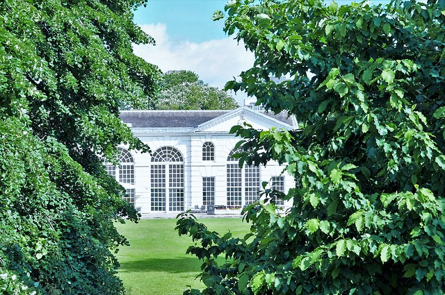 The Orangery Built 1761, Now a Restaurant.