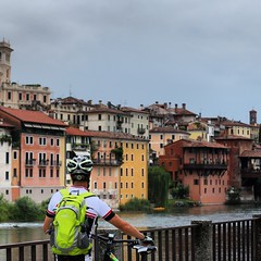 Cycle Touring in Italy - Bassano del Grappa
