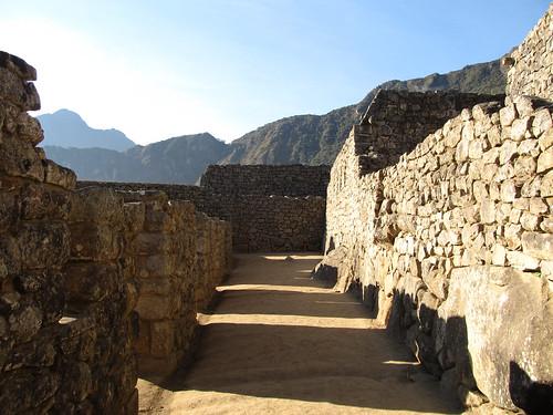 Machu Picchu: le quartier industriel