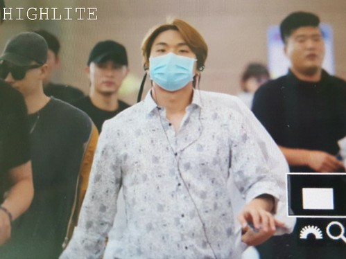 Big Bang - Incheon Airport - 24jun2016 - High Lite - 02