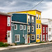Jelly bean houses in st. john's by -liyen-
