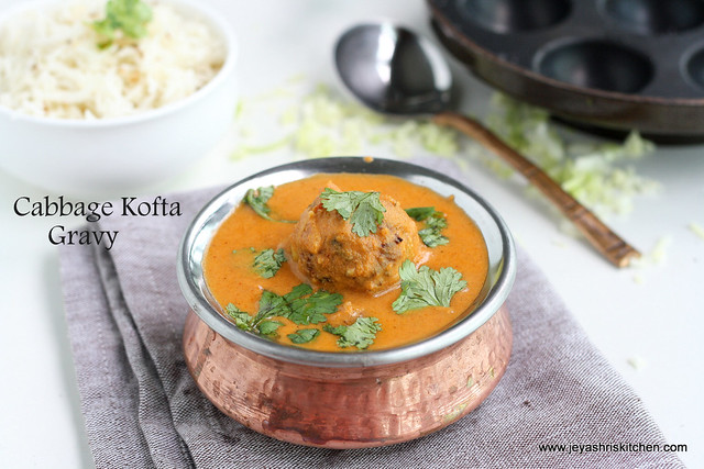 Cabbage kofta 1
