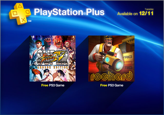 PlayStation Plus 12-11-2012