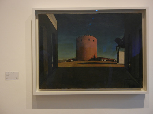 DSCN2881 _ The Red Tower (La Tour rouge), Giorgio de Chirico, 1913, Collezione Peggy Guggenheim, 15 October