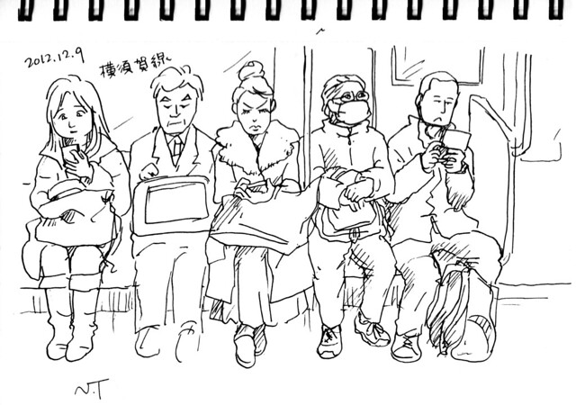 横須賀線 車内
