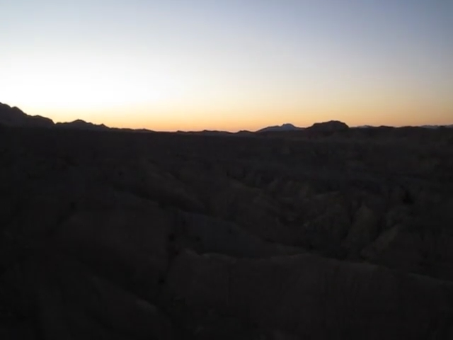 216 Dawn panorama video at the Wind Caves